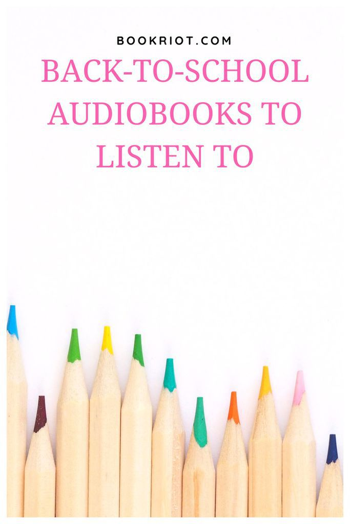 Audiobooks that are perfect for back-to-school. audiobooks | audiobook lists | books for back to school | audiobook recommendations