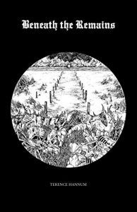 beneath the remains cover (black background with white circle in which there is a line drawing of rampaging animals)