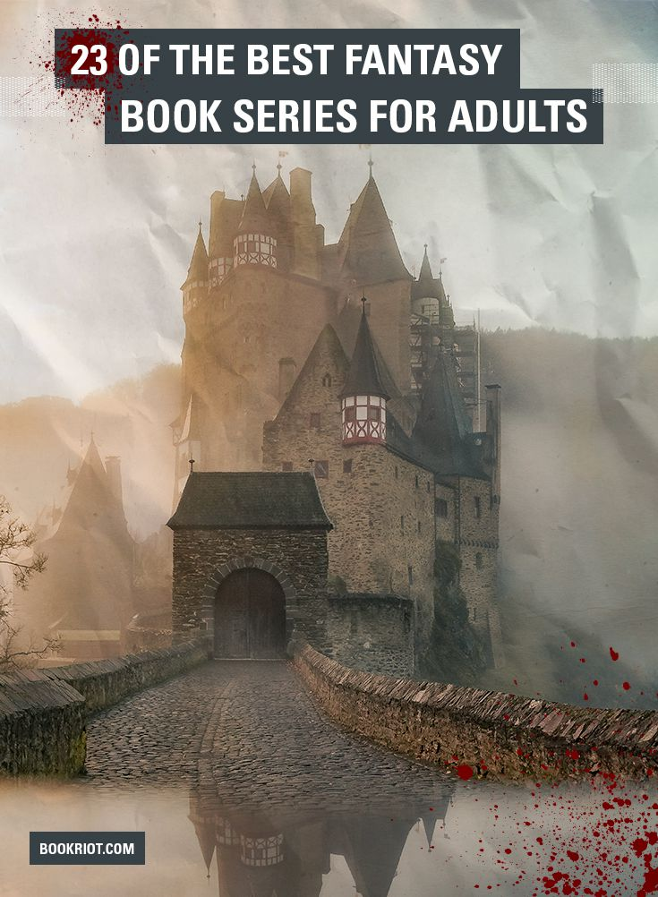 best fantasy series for adults