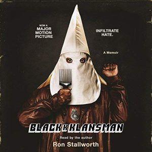 Black Klansman Audiobook Cover