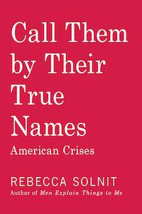 Call Them by Their True Names: American Crises by Rebecca Solnit book cover