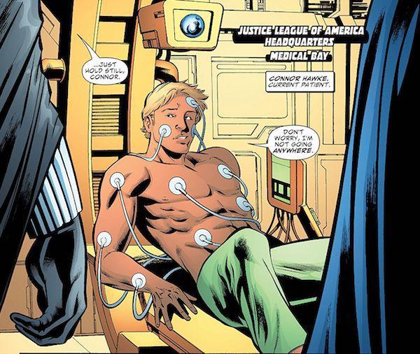 Justice League panel