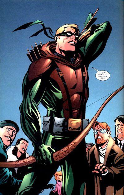 Green Arrow, Connor Hawke