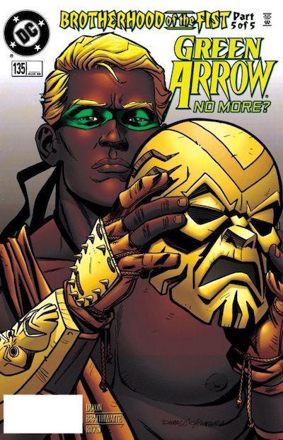 Green Arrow, Connor Hawke book cover