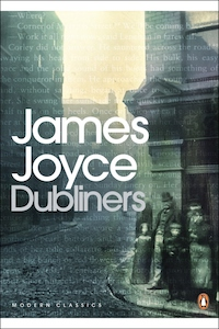 Dubliners by James Joyce book cover