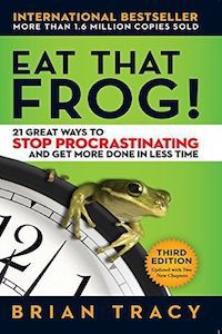 Eat That Frog! by Brian Tracy Book Cover
