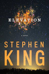 Elevation by Stephen King book cover