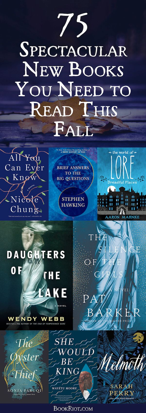 fall 2018 books new