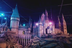 Hogwarts at the Harry Potter Studio Tour