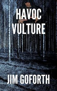 havoc vulture cover (birch trees in a dark wood)