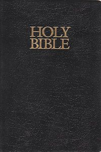 The Holy Bible book cover
