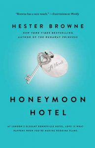honeymoon hotel by hester browne cover image
