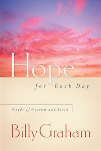Hope for Each Day by Billy Graham book cover
