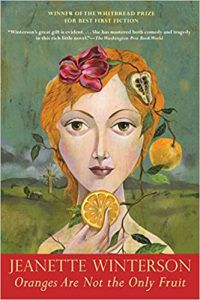 jeanette winterson oranges are not the only fruit book cover tragicomic memoir