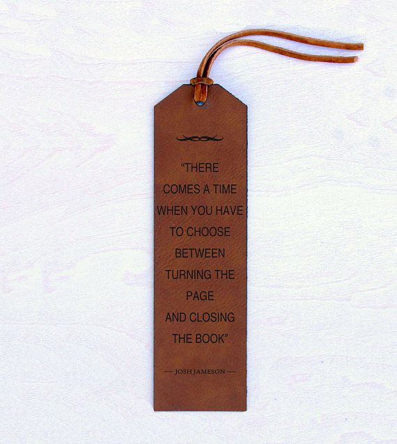 leather book quotes