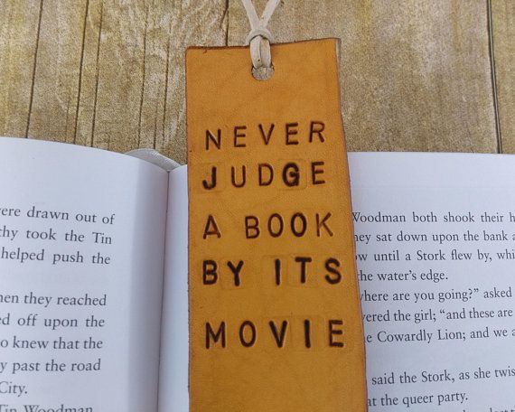 leather bookmarks quotes