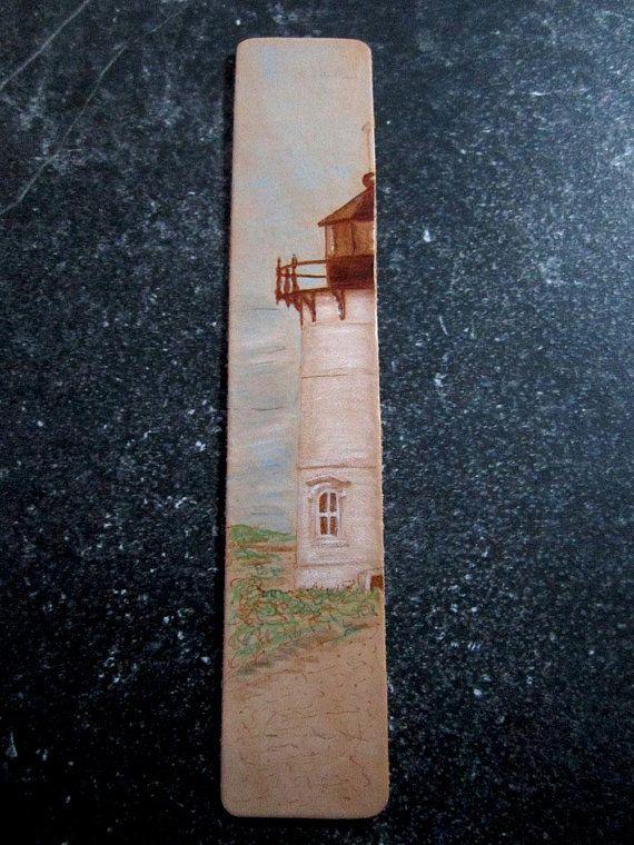 leather bookmark travel