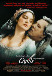 quills marquis de sade movie poster horror movies based on true stories