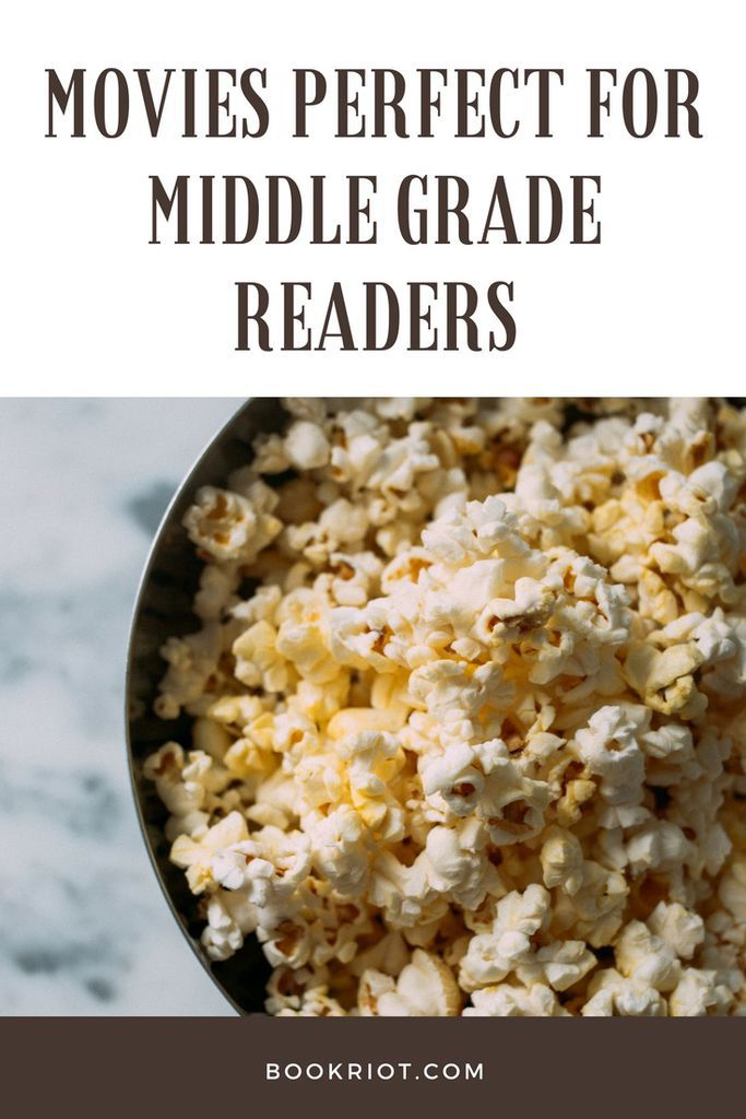 Movies that are perfect for middle grade readers. middle grade | movie lists | PG movies