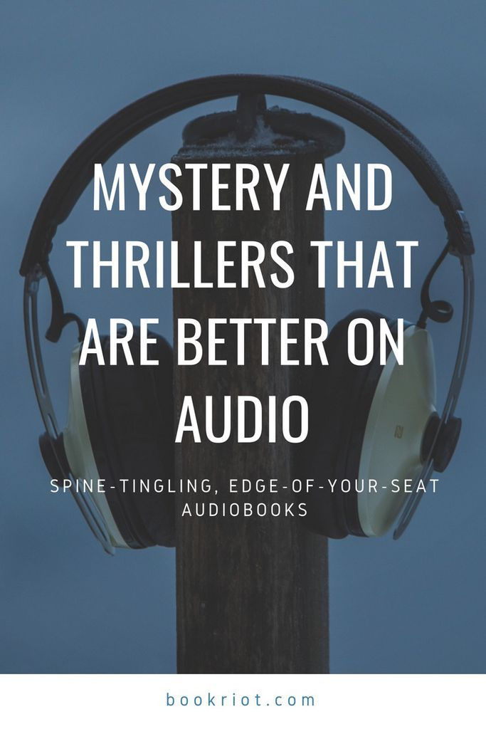 These mystery and thriller reads are excellent on audio. audiobooks | thriller audiobooks | mystery audiobooks | book lists | audiobooks to listen to