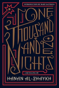 Cover of One Thousand and One Nights retelling by Hanan Al-Shaykh fairy tale retellings by authors of color