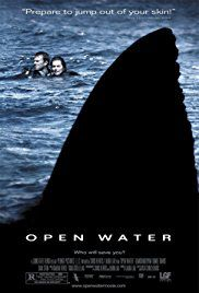 open water movie poster horror movies based on true stories