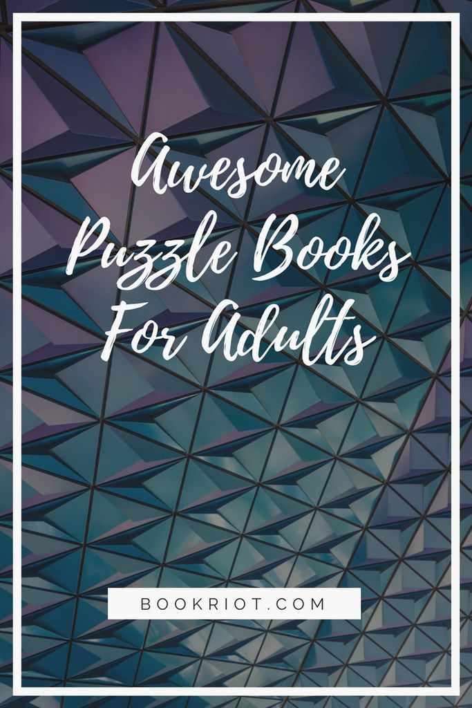 Try your hand at these great puzzle books for adults. Puzzle books aren't just throwaway things. They're fun, challenging, and can help make your brain work in new ways. puzzle books | book lists | game books | puzzle books for adults | logic puzzle books | best puzzle books