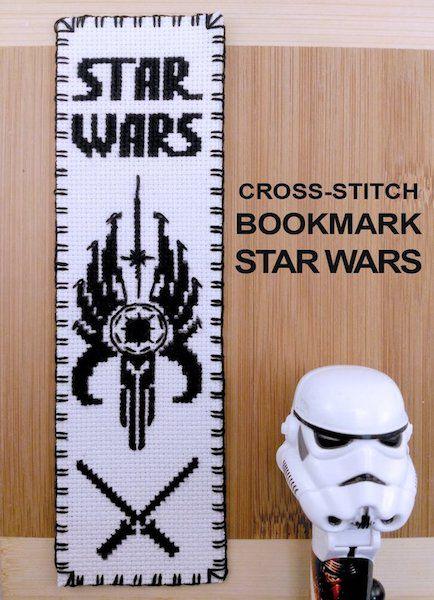 Star Wars Republic bookmark pattern
