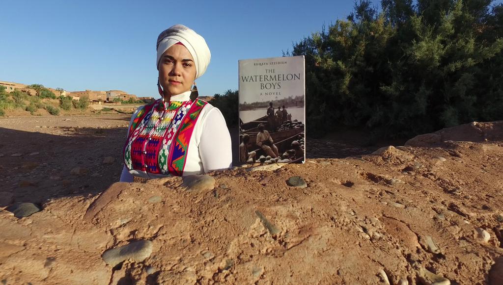 Ruqaya Izzidien on Making a Fun, Film-Like Book Trailer