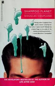 shampoo planet paperback cover with man's short hair and green shampoo blobs
