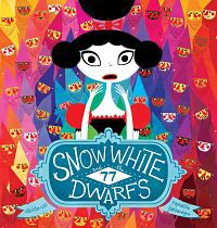 Cover of Snow White and the 77 Dwarfs by Davide Calli