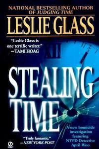 Stealing Time by Leslie Glass book cover