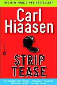 Strip Tease by Carl Hiassen book cover