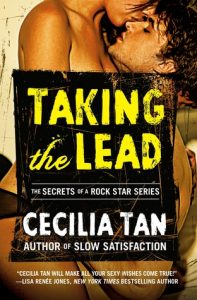 cover of taking the lead by cecilia tan