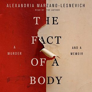 The Fact of a Body Audiobook Cover