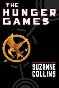 The Hunger Games by Suzanne Collins book cover