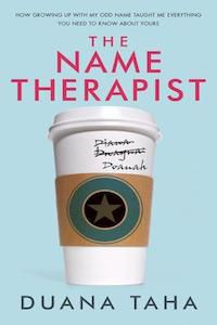 The Name Therapist by Duana Taha book cover