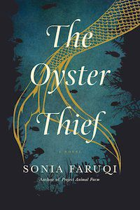 The Oyster Thief by Sonia Faruqi book cover