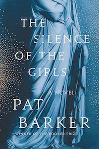 The Silence of the Girls by Pat Barker book cover