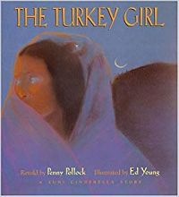 Cover of The Turkey Girl by Penny Pollock
