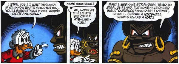 New DuckTales, Old Colonialism