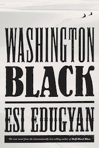 Washington Black by Esi Edugyan book cover