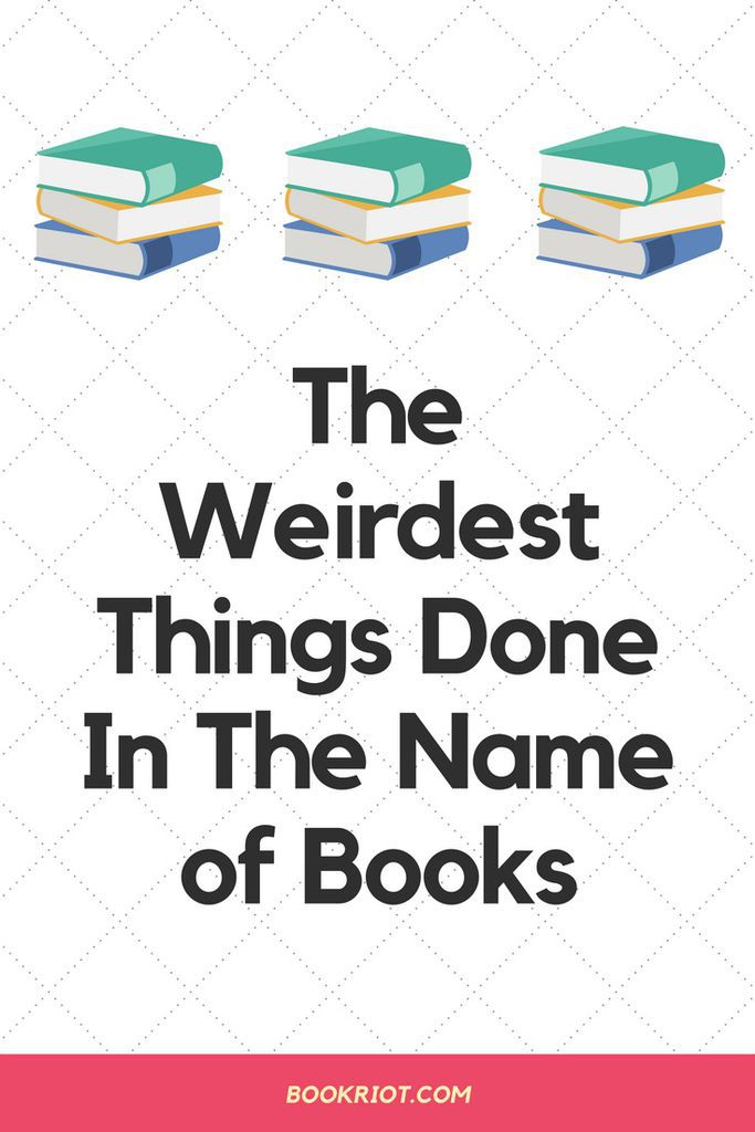The funniest and weirdest things we've done when it comes to books and reading. humor | book nerd humor | funny book stories