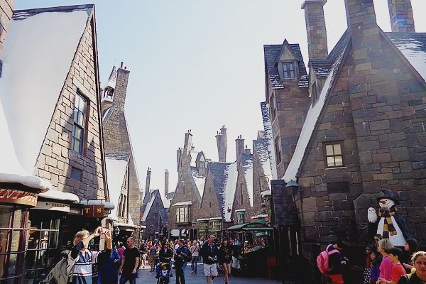 Hogsmeade at Wizard World of Harry Potter