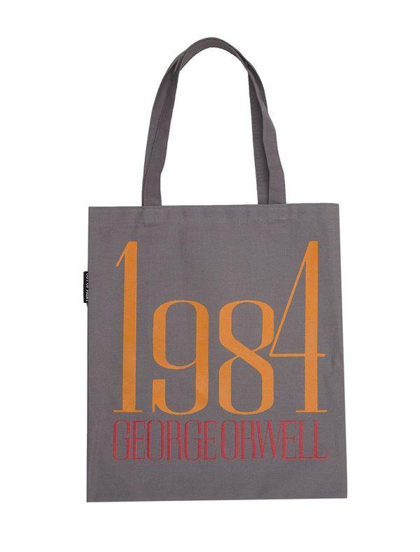1984 by George Orwell Tote Bag