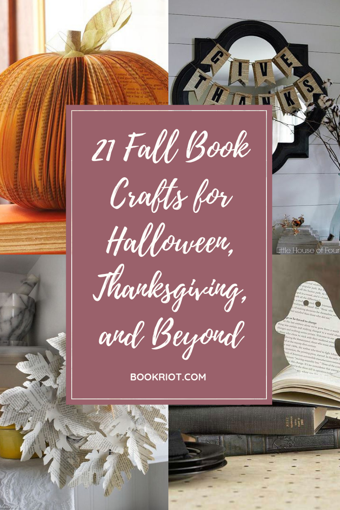 21 Fall Book Crafts for Halloween, Thanksgiving, and Beyond