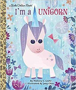 Book cover of I'm a unicorn by Mallory Loehr