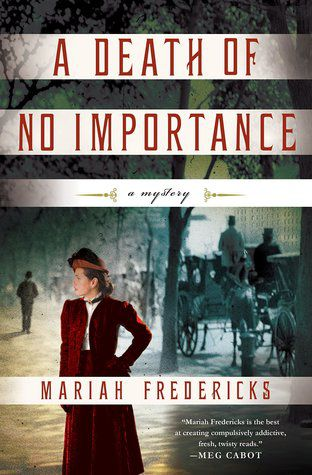 A Death of No Importance by Mariah Fredericks cover image