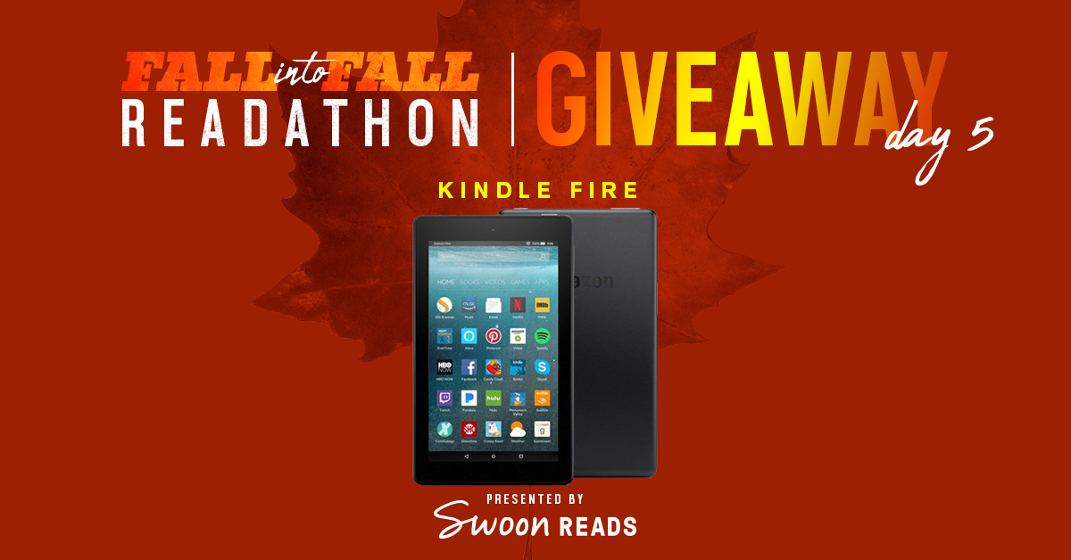 Readthon Giveaway: Kindle Fire