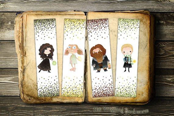 graphic regarding Free Printable Harry Potter Bookmarks known as Obtain Those people Enchanting Do-it-yourself And Printable Harry Potter Bookmarks